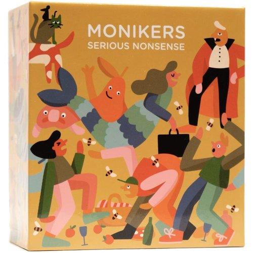 CMYK Games MONIKERS: SERIOUS NONSENSE