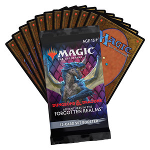 Wizards of the Coast MTG: ADVENTURES IN THE FORGOTTEN REALMS - SET BOOSTER