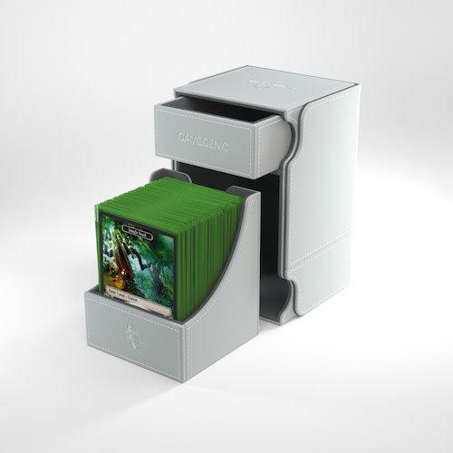 GAMEGENIC DECK BOX: WATCHTOWER 100+ WHITE