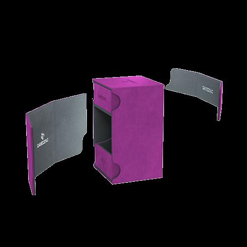 GAMEGENIC DECK BOX: WATCHTOWER 100+ PURPLE