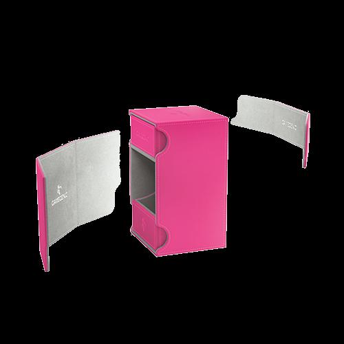 GAMEGENIC DECK BOX: WATCHTOWER 100+ PINK