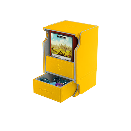 GAMEGENIC DECK BOX: WATCHTOWER 100+ YELLOW