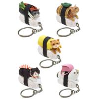 BLIND BOX CAT SUSHI KEYCHAIN VERSION 1