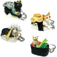 BLIND BOX CAT SUSHI KEYCHAIN VERSION 3