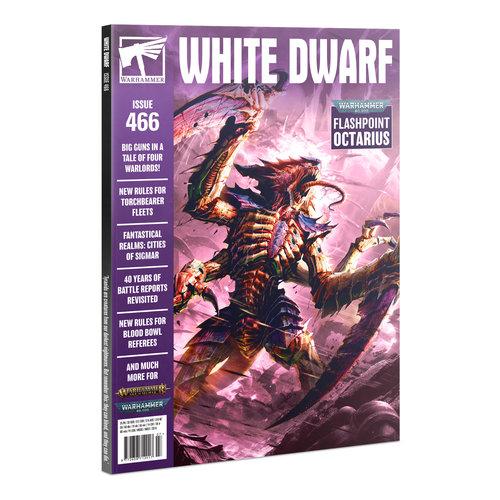 Games Workshop WHITE DWARF 466