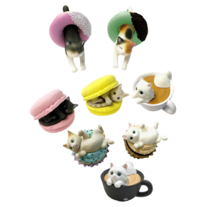 Clever Idiots BLIND BOX CAT CAFE DU MEOW