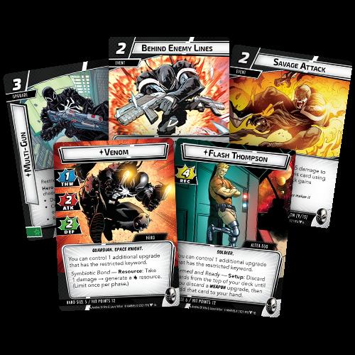 Fantasy Flight Games MARVEL CHAMPIONS LCG: VENOM HERO PACK