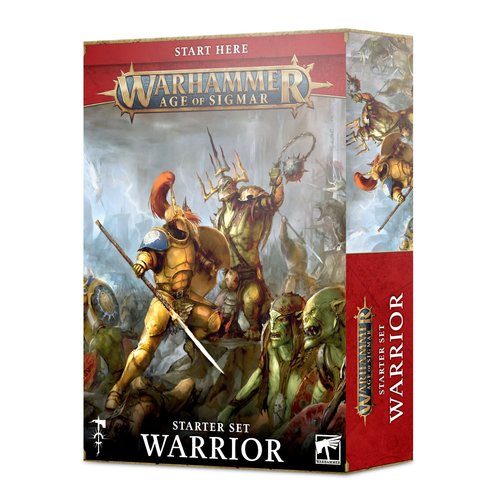 Games Workshop AoS (STARTER SET): WARRIOR