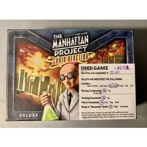 USED Manhattan Project: Chain Reaction 07/19/2021
