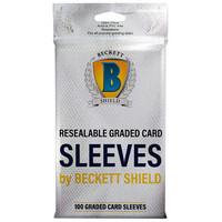 BECKETT SHIELD: GRADED CARD SLEEVES (100)