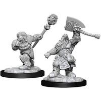 MINIS: MTG: DWARF FIGHTER & CLERIC