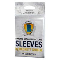 BECKETT SHIELD: STANDARD CARD SLEEVES (100)