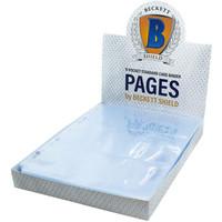 BINDER: 9 POCKET: BECKET SHIELD LOOSE PAGES (100)