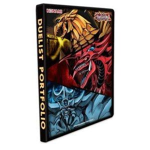 Konami Digital Entertainment BINDER: 9 POCKET: YUGIOH - SLIFER, OBELISK, RA