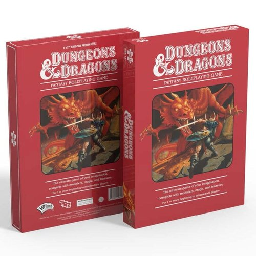 Mondo Games MO1000 - DUNGEONS AND DRAGONS - RED BOX