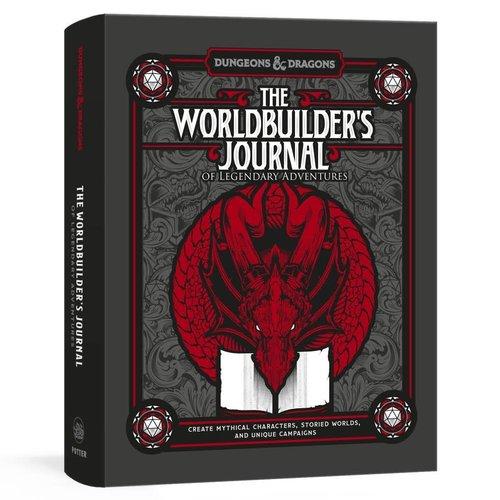 PENGUIN RANDOM HOUSE D&D: THE WORLDBUILDER'S JOURNAL OF LEGENDARY ADVENTURES