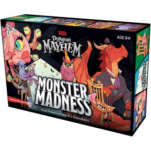Wizards of the Coast D&D: DUNGEON MAYHEM: MONSTER MADNESS