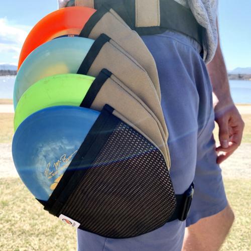 Ripshot Disc Bags RIPSHOT DISC BAG - RIGHT HIP, DESERT TAN