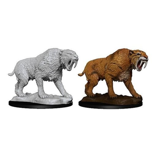Wizkids MINIS: DEEP CUTS: SABER-TOOTHED TIGER