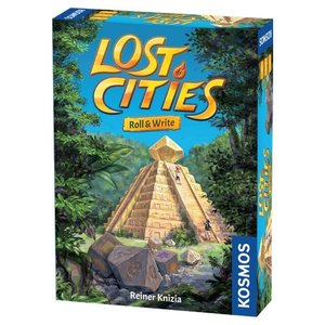 Thames & Kosmos LOST CITIES: ROLL & WRITE