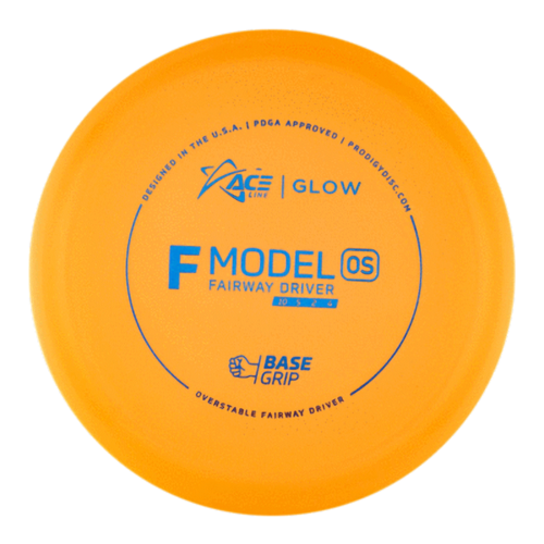 Prodigy Disc ACE LINE F MODEL OS GLOW BASEGRIP 170g-176g Fairway Driver