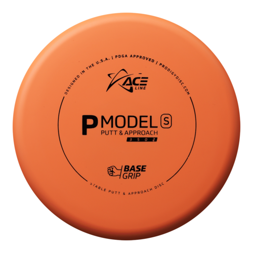 Prodigy Disc ACE LINE P MODEL S GLOW BASEGRIP 170g-175g Putt & Approach