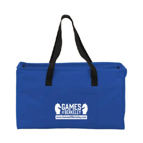 "Games of Berkeley GoB CANVAS UTILITY BOX BAG 20.5"""