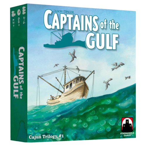 Stronghold Games CAPTAINS OF THE GULF