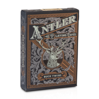 ANTLER BLACK EDITION PLAYING CARDS