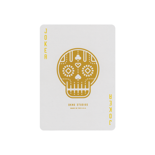 ART OF PLAY DKNG YELLOW WHEELS PLAYING CARDS