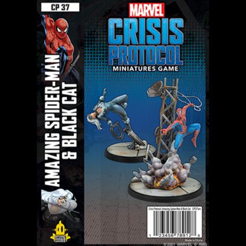 Atomic Mass Games MARVEL CRISIS PROTOCOL: AMAZING SPIDER-MAN & BLACK CAT