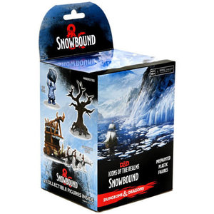 Wizkids MINIS: D&D: ICONS OF THE REALMS - SNOWBOUND BOOSTER