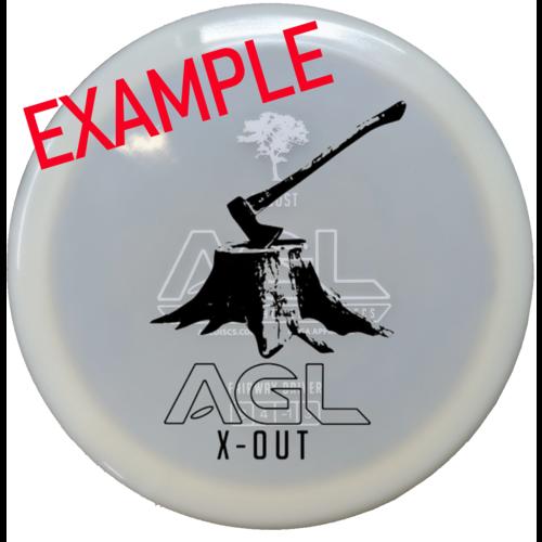 AGL Discs LOCUST ALPINE aX-OUT 173g-176g Fairway Driver