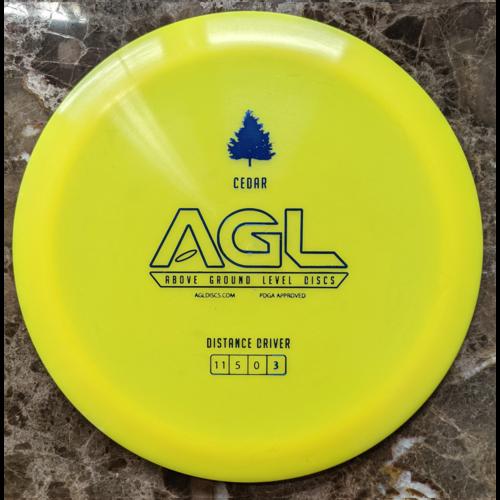 AGL Discs CEDAR ALPINE 173g-176g Distance Driver