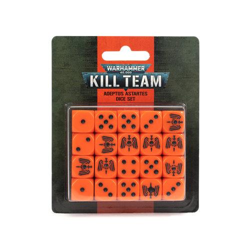 Games Workshop KILL TEAM: ADEPTUS ASTARTES DICE