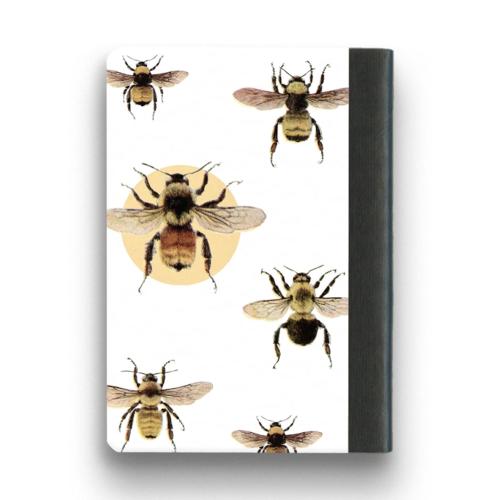 The Mincing Mockingbird & The Frantic Meerkat BEE NOTEBOOK - SMALL
