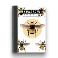 BEE NOTEBOOK - SMALL