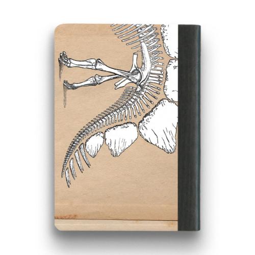 The Mincing Mockingbird & The Frantic Meerkat DINOSAUR NOTEBOOK - SMALL