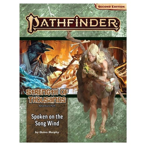 Paizo Publishing PATHFINDER 2ND EDITION: ADVENTURE PATH: STRENGTH OF THOUSANDS 2 - SPOKEN OF THE SONG WIND