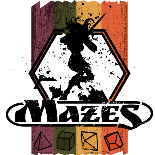 9th Level Games MAZES ROLE-PLAYING GAME