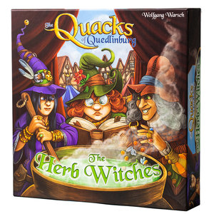 CMYK Games QUACKS OF QUEDLINBURG: HERB WITCHES