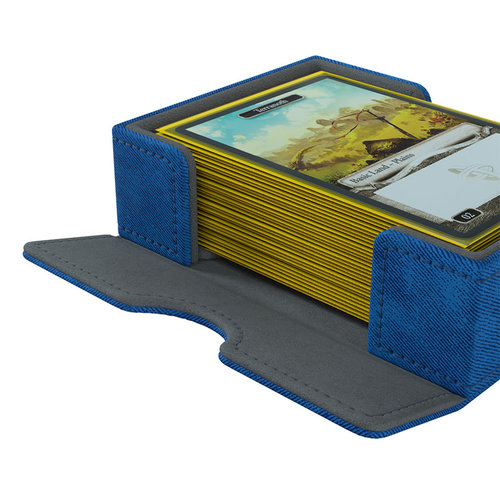 GAMEGENIC DECK BOX: CARDS' LAIR 400+ BLUE