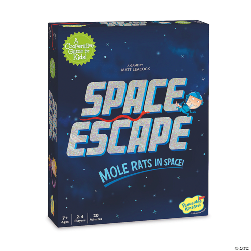 Peaceable Kingdom SPACE ESCAPE (MOLE RATS IN SPACE)
