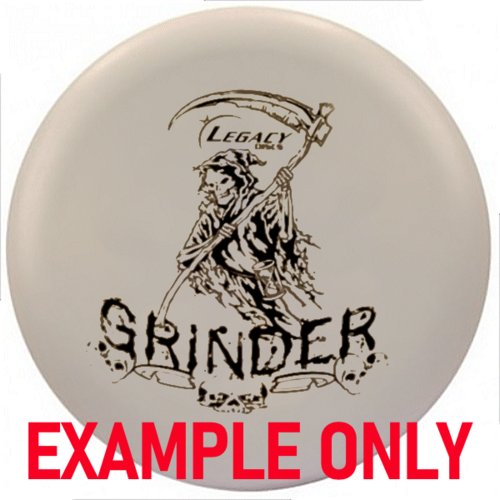 Legacy Discs GRINDER (Factory Second) BASE LINE MID 176g-180g