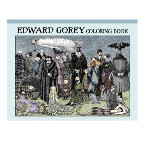 POMEGRANATE EDWARD GOREY COLORING BOOK
