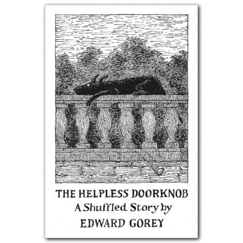 POMEGRANATE EDWARD GOREY HELPLESS DOORKNOB