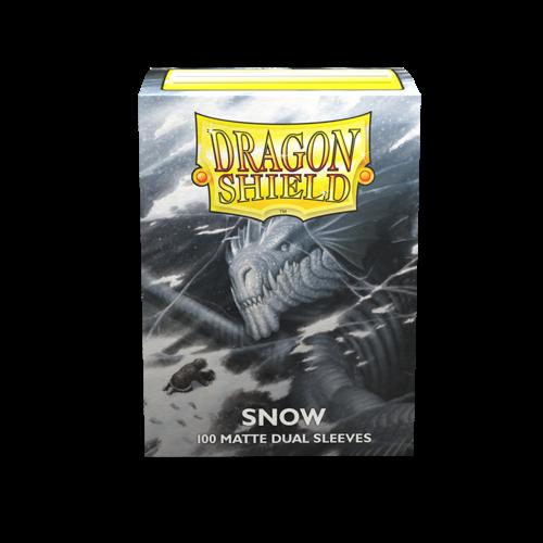 Arcane Tinmen DRAGON SHIELD: DUAL MATTE SNOW (100)