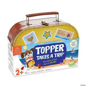 Peaceable Kingdom TOPPER TAKES A TRIP