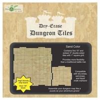 DRY ERASE DUNGEON TILES: SAND COLOR COMBO PACK