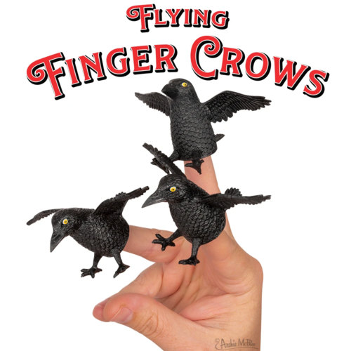 Archie McPhee FINGER CROWS